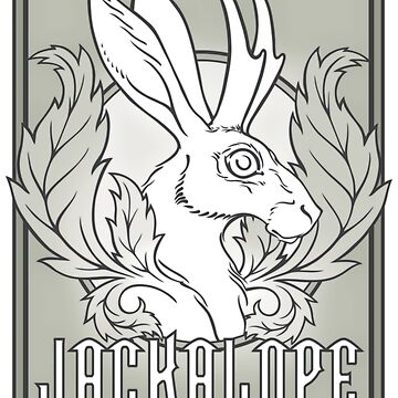 Jackalope  by saraadrian