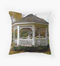Home Town Gazebo Throw Pillow