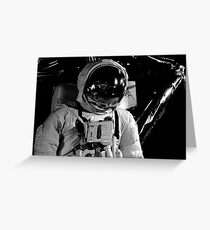 Cosmonaute Greeting Card