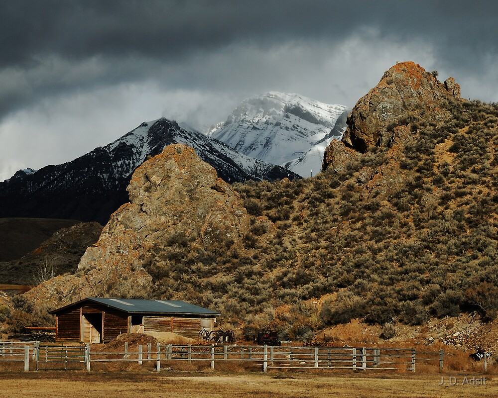 Hard Tack Ranching by J. D. Adsit