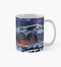 Mountain Calm in space view Classic Mug