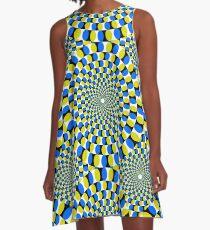 Optical illusion A-Line Dress
