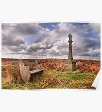 Moor Land Cross Poster