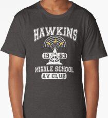 Stranger Things Tee - Hawkins AV Club Long T-Shirt
