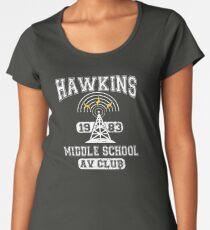 Stranger Things Tee - Hawkins AV Club Women's Premium T-Shirt