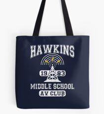 Stranger Things Tee - Hawkins AV Club Tote Bag