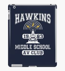 Stranger Things Tee - Hawkins AV Club iPad Case/Skin