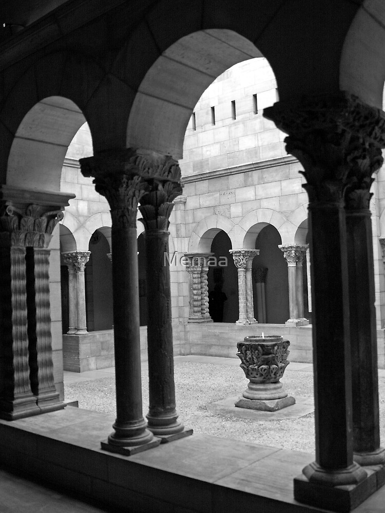The Cloisters Courtyard by Memaa