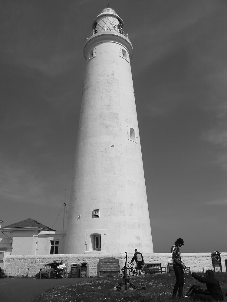 """St Mary""""s Lighthouse. Whitley Bay, North Tyneside. by Onions"""