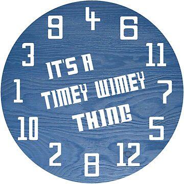 Timey Wimey Clock by Neon2610