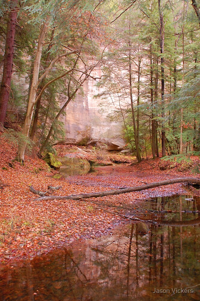 Fall at Hocking Hills by Jason Vickers