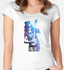 KILL THE GHOST #SL Women's Fitted Scoop T-Shirt