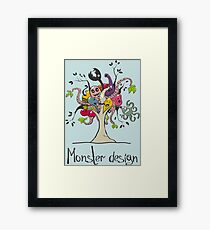 Monster Tree Framed Print
