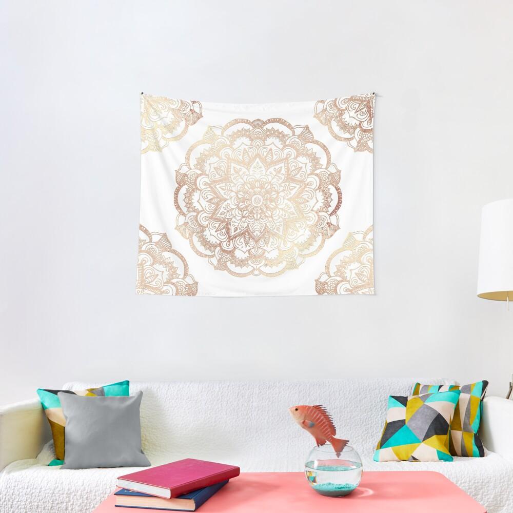 Mandala Gold Shine I Tapestry