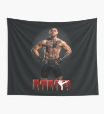 fighter - conor mcgregor - mma Wall Tapestry