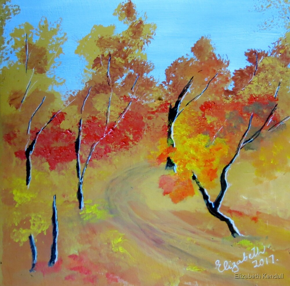 Autumn in the bush by Elizabeth Kendall