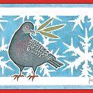 Pigeon, Christmas 2008 by John Grundeken