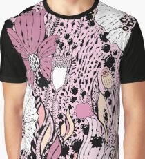 Flowers and drops Graphic T-Shirt
