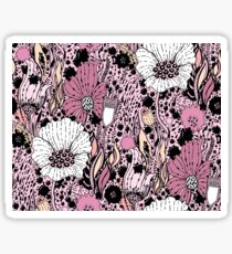 Flowers and drops Sticker