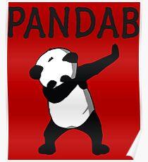 Panda Dab Posters Redbubble