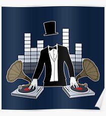 DJ Gramophone Poster