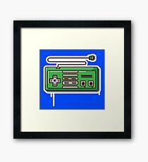Nintendo Entertainment System / NES - Controller Framed Print
