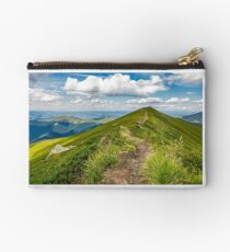 group of tourist hiking the mountains Studio Pouch