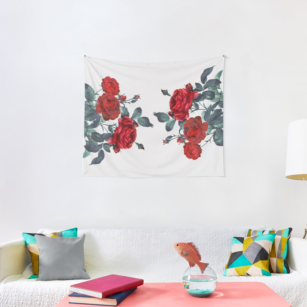 Rose my life Tapestry