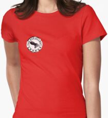 The Red Planet League Women's Fitted T-Shirt
