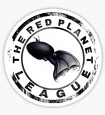 The Red Planet League Sticker