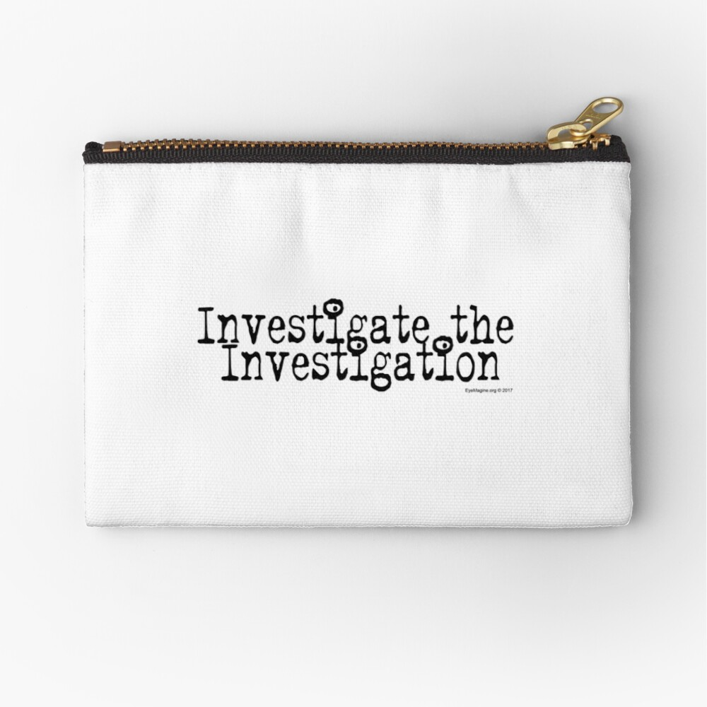 Investigate the Investigation Zipper Pouch
