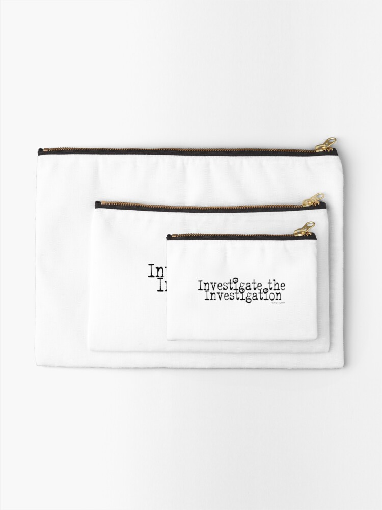 Alternate view of Investigate the Investigation Zipper Pouch