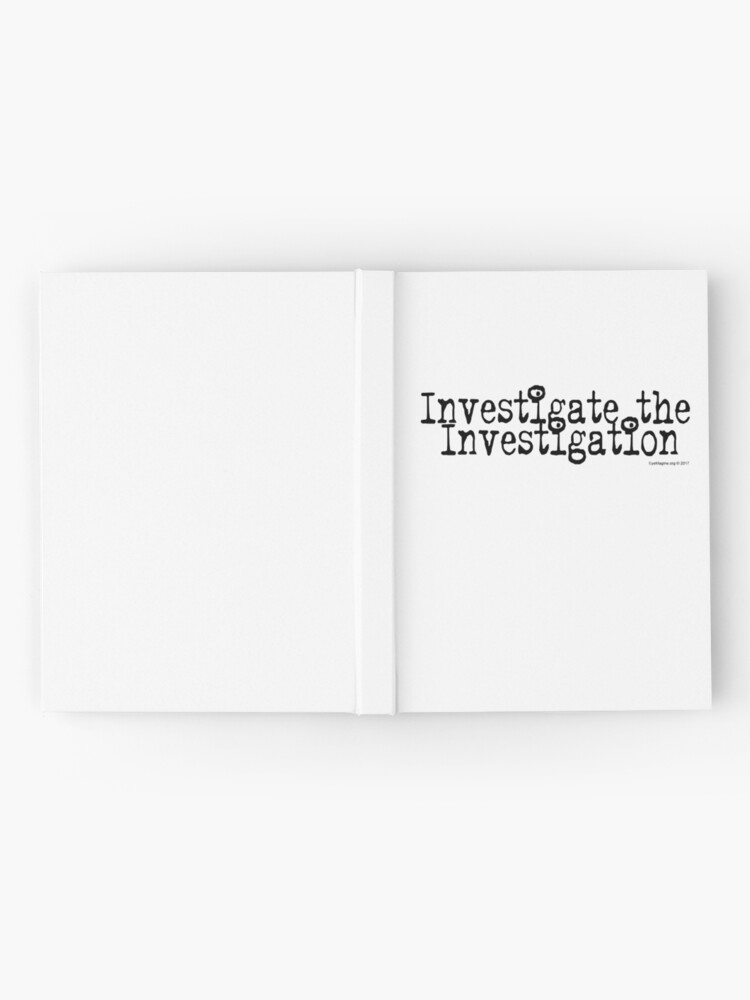 Alternate view of Investigate the Investigation Hardcover Journal