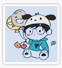 pochaco yuuri Sticker