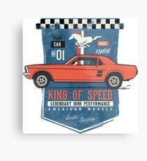 Ford Mustang - King Of Speed Metalldruck