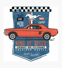 Ford Mustang - King Of Speed Fotodruck
