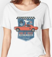 Ford Mustang - King Of Speed Loose Fit T-Shirt