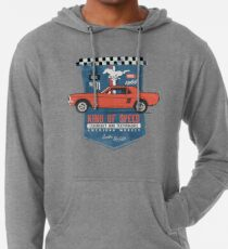 Ford Mustang - King Of Speed Leichter Hoodie