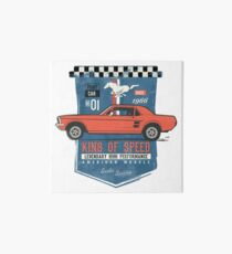 Ford Mustang - King Of Speed Galeriedruck