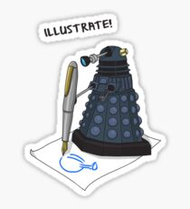 Dalek Hobbies | Dr Who Sticker
