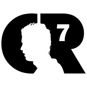 CR7 logo black by pvdesign
