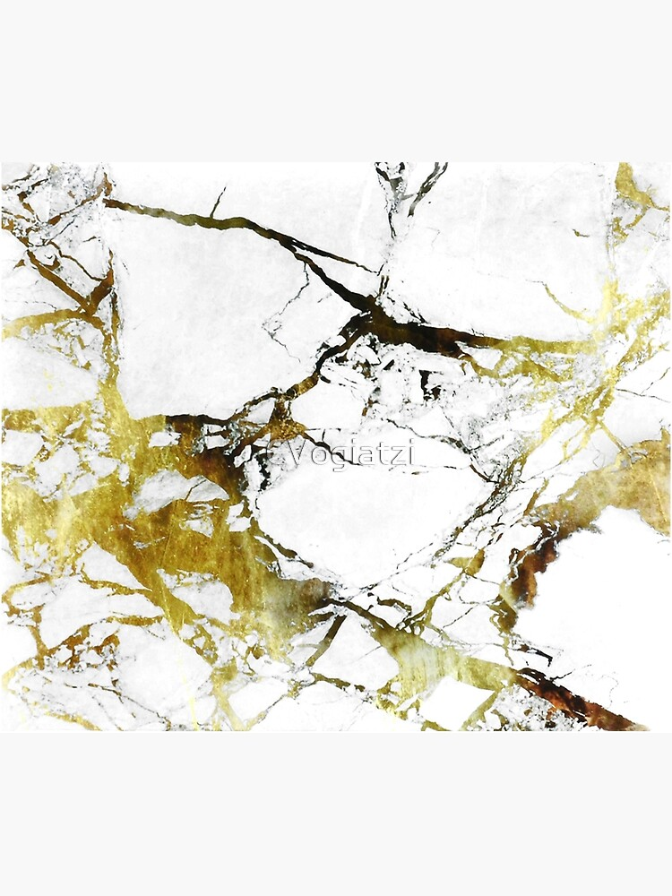 Gold-White Marble Impress by CVogiatzi
