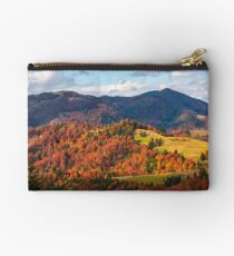 rural countryside in autumn Studio Pouch