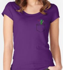 Pocket Pickle Women's Fitted Scoop T-Shirt