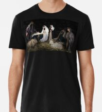 birth of Christ scene from the bible Premium T-Shirt