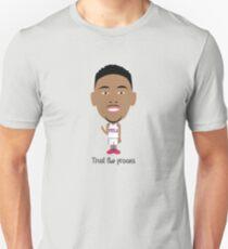 Ben : Trust the process T-shirt unisexe