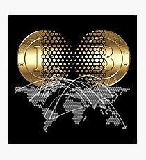 Bitcoin Concept Photographic Print