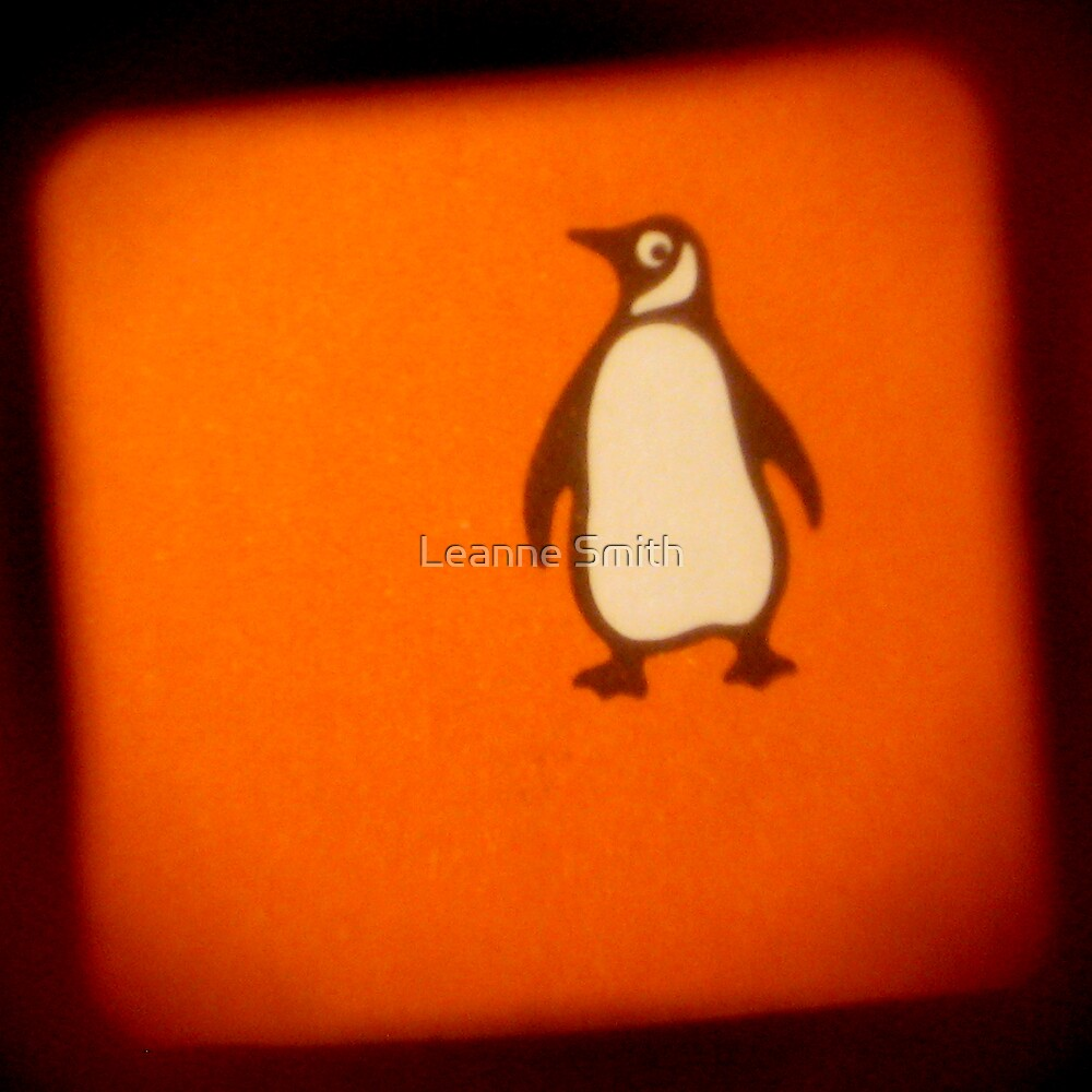 Orange Penguin by Leanne Smith