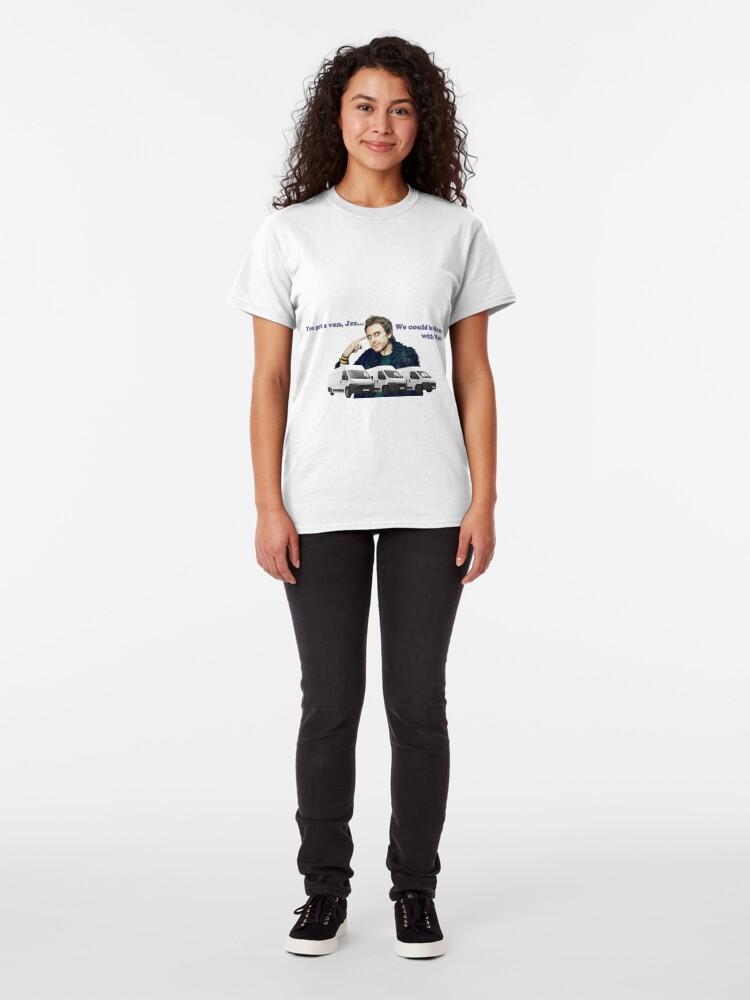 Vista alternativa de Camiseta clásica Hombres con Ven - Peep Show SuperHans