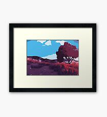Echoes of Nature Framed Print